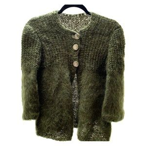Sweaters - Mohair Hand Knit MP Sweater